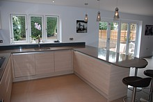 Another fine example of a spacious and user-friendly kitchen designed by Samuel Edgar
